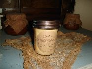 8 OUNCE BRONZED LID CONTAINER CANDLE-