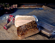 OATMEAL CINNAMON BAR-Specialty soap, primitive soap