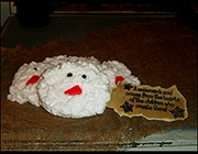 SNOWMAN FACE COOKIE MELTS-
