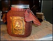 GRUNGY 1 GALLON CANDLE JAR