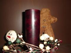 "PAPPYS 2"" X 6 1/2"" PILLAR CANDLE"