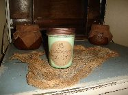 PRIMITIVE 8 OUNCE JAR CANDLE
